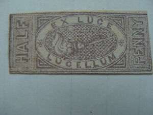 QV Revenue : Match Tax ½d Cinderella stamp