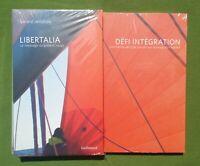 LIBERTALIA + DÉFI INTEGRATION - GALLIMARD 2010 - PACK 2 LIVRES NEUFS