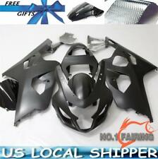 Matte Black Injection Fairing Kit Fit for Suzuki 2004 2005 GSXR600 / GSXR750 K4