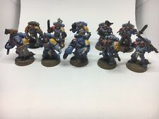 warhammer 40k space wolves Squad Painted Games Workshop