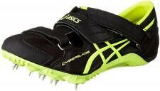 ASICS Track and Field Spike Shoes CYBERBLADE HF TTP507 Black / Flash Yellow