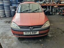 2000 - 2004 Vauxhall Corsa C A01 Front Bumper In Red Z591