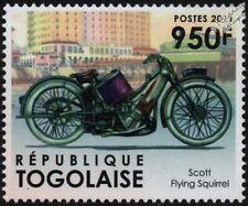 SCOTT FLYING SQUIRREL Isle of Man TT Classic Motorcycle / Motorbike Stamp