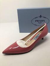 $620 New PRADA Womens Pink Heels Ladies Shoes Size 6 US 36 EU