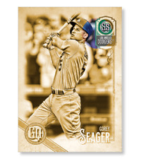 COREY SEAGER 2018 #TOPPS 1/1 Gold GYPSY QUEEN 10x14 #Dodgers #CoreySeager #MLB