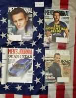 Lot of 4 Men's Journal Magazines 2016 2017 2018 Back Issues