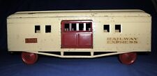 1930s Murray Ohio Large Scale Railway Express Pressed Steel Railcar
