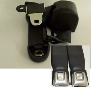 Morris Classic 3 Point Front Seat Belt 70-73 Duster Demon for Bucket Seats Pr.
