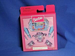Barbie Special Collection Tea Set #18434 - 1997 Mattel NRFB (DO-398)