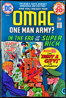 OMAC #2 FN/VF 7.0 Great Jack Kirby Cover and Art (DC 1974) Bronze Age