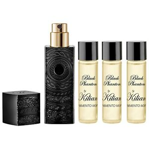 Kilian Black Phantom Memento Mori Unisex edp 4 X7.5 ML Spray Travel Set Sealed