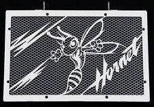 "cache / Grille de radiateur inox poli 600 Hornet 07>14 ""Frelon V2"" + grill.blanc"
