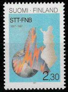 Finland postfris 1987 MNH 1034 - Nieuwsberichten 100 Jaar
