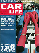 Car Life Magazine June 1967 Young Tigers Of USAC EX 060916jhe