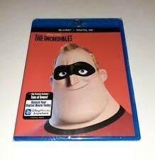 New - The Incredibles - Blu-ray + Digital Hd - Disney Pixar