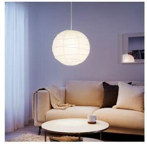 1,2,4,8 x Ikea Regolit  Pendant Lamp Shade Lampshade 45cm White Paper 701.034.10