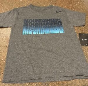 New Nike West Virginia Mountaineers Youth TShirt White NWT Free Shipping