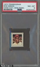 1970 Transogram Side Panel Bob Gibson PSA 8 HOF POP 2 None Higher