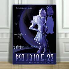 "COOL NASA TRAVEL CANVAS ART PRINT POSTER - PSO J318.5-22 - Space Travel - 12x8"""