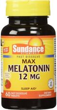 Sundance 12 Mg Melatonin Tablets 60 ea