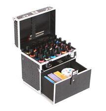 Urbanity SMALTO VERNICE BOTTIGLIA Bellezza Cosmetici Make-up VANITY Case Box Nero