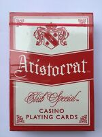 ARISTOCRAT Casino Playing Cards, GREEN, Poker, Cardistry, Magic Tricks, 52 cards