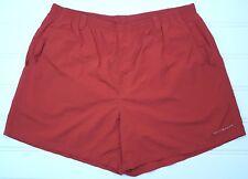 Columbia Swim Trunks 2XL Red Mens Size Nylon Pfg Omni Shade XXL Sz Mesh Lining