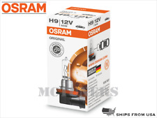 New! OSRAM H9 Original Standard Halogen OEM Bulb 64213 12V 65W Germany - 1 Pack