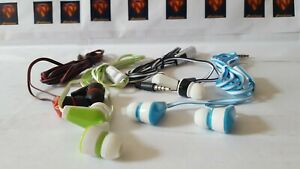 Stereo Earphones Bass Headset 3.5mm Earbuds Handsfree with MIC - Bargain