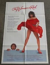 THE WOMAN IN RED 1984 MOVIE THEATER POSTER  Kelly LeBrock and Gene Wilder