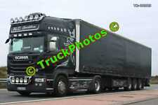 Truck Photo TR-00323 Scania  Reg:- AG20LKW Op:- ALC Spedition M20 Dover Lorry