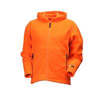 Deer Camp by Gamehide Lightweight Full Zip Fleece Hoodie (Blaze Orange) EBH