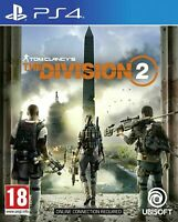 Tom Clancy's The Division 2 (PS4) BRAND NEW AND SEALED