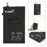 Portable LCD Display CTCSS/DCS Decoder Frequency Counter Meter 2.4GHz for Radio
