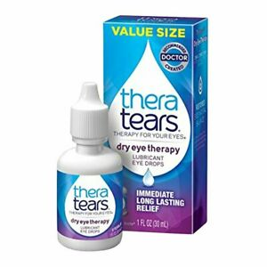 TheraTears Lubricant Eye Drops 1 oz (Pack of 4)