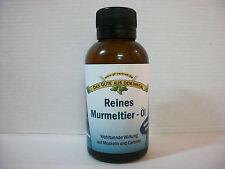 Reines Murmeltier - Öl 100 ml (100ml € 24,95) 100% reines Murmeltieröl