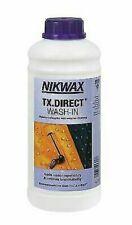 Nikwax Tx Direct Laver en 1 Litre Waterproofing pour Temps Pluvieux plein Habits
