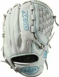 "New Louisville Slugger Xeno XNRF1912 Fastpitch LEFT H 12.5"" White Baseball glove"
