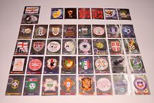 PANINI South Africa 2010 WM WC 10 - Alle 40 Wappen/shiny badges Sticker Neu/new
