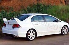 Factory Style Spoiler Wing ABS for 2006-2011 Honda civic 4DR Sedan PU B