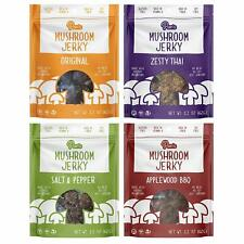 Pan's Mushroom Jerky 2.2ounce (Pack of 4) - Choose your flavor or Variety Pack