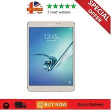 "Samsung Galaxy Tab S2 32Gb SM-T719 WIFI & 4G EE Network  8"" Tablet in White"