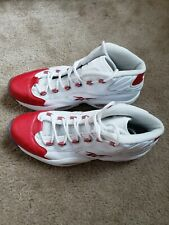 Reebok Question Red Pearl Toe Size 13