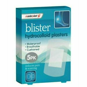 Master Plast Blister Hydrocollid Plasters Waterproof Breathable Cushioned