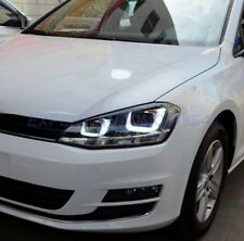 FARI CROMO VW GOLF 7 ANGEL EYES 3D A LED DAYLINE DAL 2012 AL 01/2017