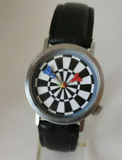 AKTEO 32MM UNISEX Themen Armbanduhr Darts - Dartpfeile - Board
