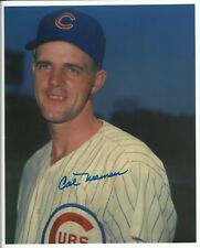 Cal Neeman (Deceased) 1957-1960 Chicago Cubs Signed Autographed 8x10 Photo  COA