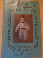 """Pattern for 22"""" doll CONNIE LEE FINCHUM Ring Bearer PUNKIN"""