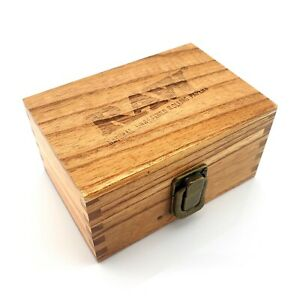 RAW Wooden Rolling Storage Box