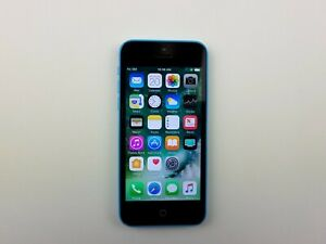 Apple iPhone 5c (A1532) 8GB - Blue (GSM Unlocked) Smartphone Clean IMEI K5835
